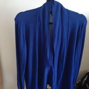 Large Blue Women's Le Chateau Cardigan